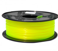 HobbyKing 3D Printer Filament 1.75mm PLA 1KG Spool (Translucent Yellow)