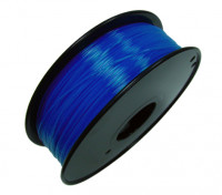 HobbyKing 3D Printer Filament 1.75mm PLA 1KG Spool (Translucent Blue)