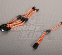 JR Y Servo Lead 15cm Length (5pcs/bag)