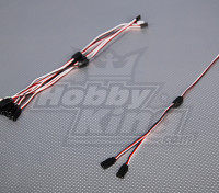 Futaba Y Servo Lead 30cm Length (5pcs/bag)