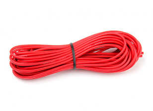 Turnigy High Quality 18AWG Silicone Wire 8m (Red)