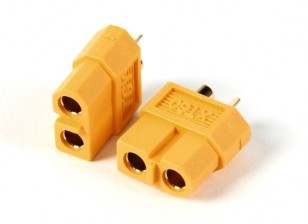Female XT60 Connectors (5pcs/bag) GENUINE