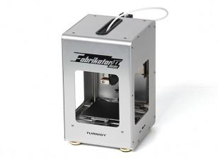 Mini Fabrikator V2 3D Printer - Silver (US Plug)