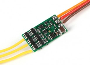YEP 7A (1~2S)   Brushless Speed Controller  0.7g