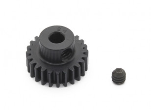 Robinson Racing Black Anodized Aluminum Pinion Gear 48 Pitch 24T