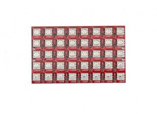 Keyes Wearable 2812 8x5 LED Full Color 5050 RGB LED Module