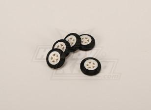 Light Foam Wheel (Diam: 30, Width: 11mm) (5pcs/bag)