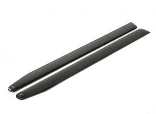 715mm TIG Carbon Fiber Main Blades