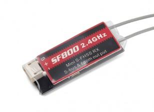 Futaba SF800 SB 8CH 2.4G Receiver Compatible w/Futaba S-FHSS/T4YF/T6J/T6K/T10J/T14SG/T18MZ/T18SZ