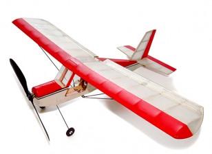 Aeromax Micro Indoor Balsa Airplane 400mm Kit w/Motor