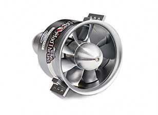 Dr. Mad Thrust 70mm 8-Blade All Alloy EDF 2200kv Inrunner Motor 1900watt(6S)