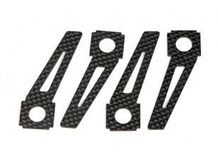 Quanum Chaotic 3D Quad - Replacement Carbon Fiber Skids (4pc)