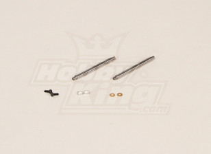GT450PRO Feathering Shaft (51x4mm) 2pcs