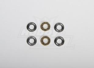 Thrust Bearing 8x16x5mm For All type Heli (2pcs/set)