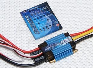 Turnigy AquaStar 120A Watercooled ESC w/Programming Card