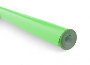 Covering Film - Fluorescent Green 410 (5m)