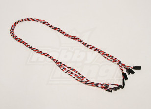 Twisted 80cm Servo Lead Extension (Futaba) 22AWG (5pcs/set)