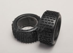 Tires w/Foam Inserts (2pcs/bag) - 1/18 4WD On-Road Drift Car