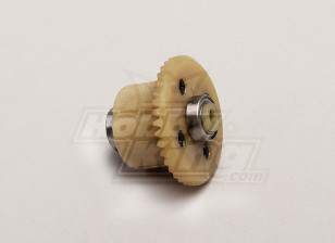 Diff Main Gear w/Bearings(4T Motor Gear) - 1/18 4WD RTR On-Road Drift/Short Course