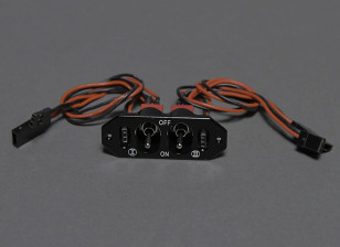 Dual RX/CDI Power Switch with Dual Charge/Voltage Check ports