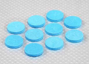 EVA Foam Body Washers (Blue) (10Pcs)