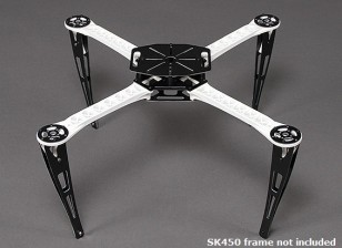 Extended Landing Skid Set for SK450 Quadcopter Frame