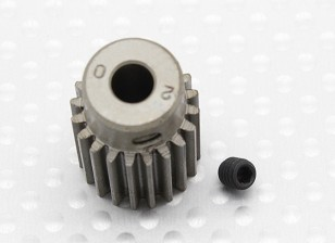 """""""Hard One"""" 0.7M Hardened Helicopter Pinion Gear 5mm Shaft - 20T"""