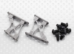 1/10 Aluminum CNC Tail/Wing Support Frame-Small (Titanium)
