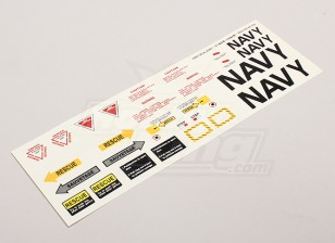 Scale Jet Decal Sheet 1