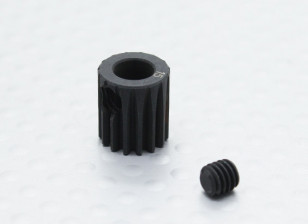 15T/5mm 48 Pitch Hardened Steel Pinion Gear