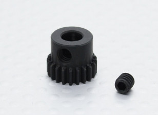 21T/5mm 48 Pitch Hardened Steel Pinion Gear