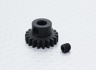 19T/5mm 32 Pitch Hardened Steel Pinion Gear