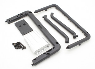 Basher Nitro Circus MT - Filter Cover, Rear Frame and Support (Body Part)