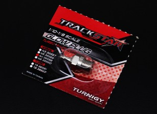 TrackStar 1/10~1/8 Scale Glow Plug No.4 (MEDIUM HOT)