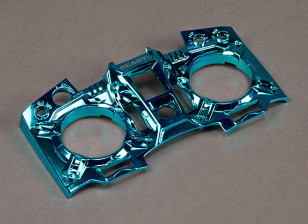 Turnigy 9XR Transmitter Custom Faceplate - Metallic Blue