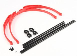 M200 Crab Leg Landing  Gear Set DIY (Red)