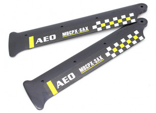 3D Main Blades for mCPX (2pc) with Winglet