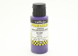Vallejo Premium Color Acrylic Paint - Violet (60ml) 62.008