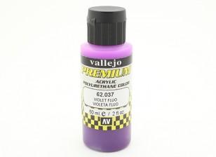 Vallejo Premium Color Acrylic Paint - Violet Fluo (60ml) 62.037