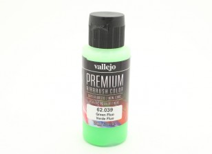Vallejo Premium Color Acrylic Paint - Green Fluo (60ml) 62.039