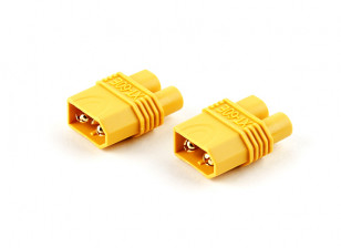 XT60 Male to EC3 Adapter Plug (2pcs)