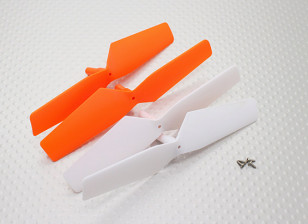 Propellers (2 clockwise, 2 counter-clockwise) - Walkera QR W100S Wi-Fi FPV Micro Quadcopter