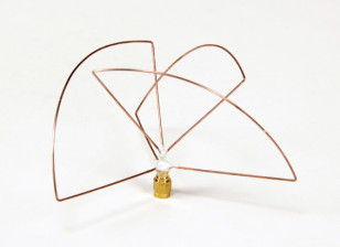 Circular Polarized 1.2ghz Transmitter Antenna (RP-SMA) (LHCP) (Short)