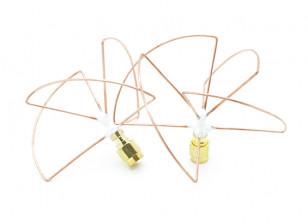 2.4GHz Circular Polarized Antenna SMA LHCP (Set) (Short)
