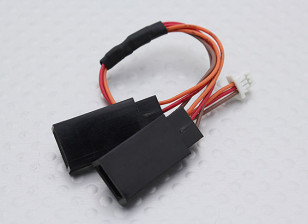 JST(Molex) 1.25mm Female to 2 x JR Male (1pc)