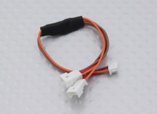 115mm Female JST-SH 1.0mm to Twin Male Molex 1.25 Y Lead