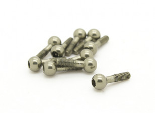 Basher Nitro Circus MT - Ball Stud Screw for Anti-Sway Bar (10pcs)