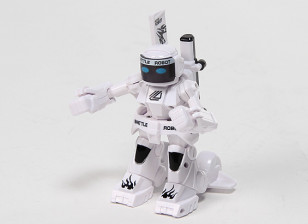 2ch Mini R/C Battle Robot with Charger (White)