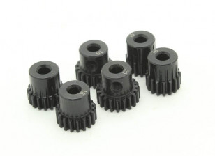 Hardened Steel Pinion Gear Set 48P To Fit 3.175mm Shaft (15/16/17/18/19/20T)