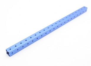 RotorBits Pre-Drilled Anodized Aluminum Construction Profile 200mm (Blue)